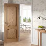 Louis White Oak Bolection Doors