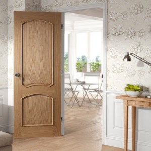 Louis White Oak Bolection Doors