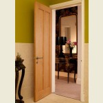 Maine White Oak Two Panel Doors