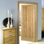 Pre Finished Maine Two Panel Oak Doors