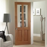 Malton Hardwood Doors Clear Bevelled Glass