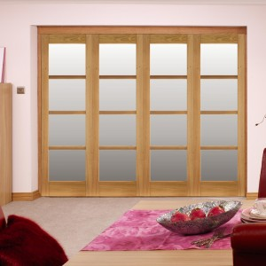 Oslo Room Fold Interior Folding Sliding Door Sets