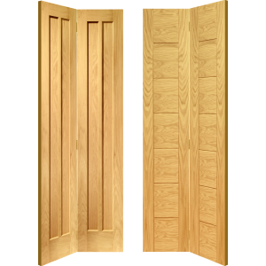 Oak Solid Bi Fold Doors