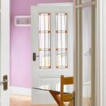 Peony Leaded Glazed Doors White