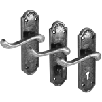Turnberry Pewter Door Handle Sets