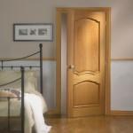 Pre Finished Louis Bolection White Oak Doors