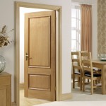 Provence White Oak Two Panel Doors