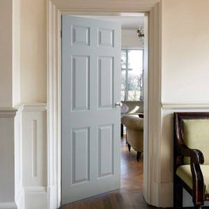 Regency Six Panel Solid White Doors