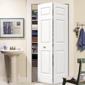 Six Panel Bi Fold Doors