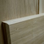 Solid Oak Button Bead Ledged Cottage Doors
