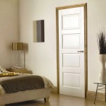 White Primed Solid Contemporary Four Panel Doors
