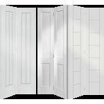 Solid Wood Primed Bi Fold Doors