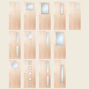 Superdeluxe North American Maple Doors