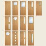 Superdeluxe White Oak Doors