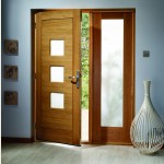 Turin Oak MT Doors Obscure Glazing