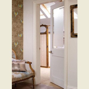Two Panel Shaker Glazed Doors