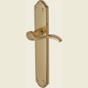 Verona Polished Brass Long Plate Handles