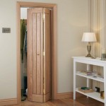 Oak Vertical Panel Bi Fold Doors