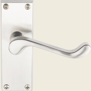 Victorian Scroll Satin Nickel Handles