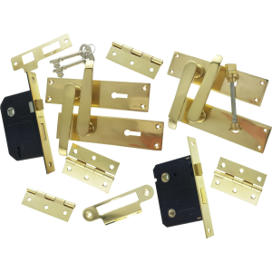 Victorian Brass Door Furniture Packs