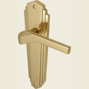 Waldorf Polished Brass Handles