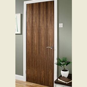 Walnut Veneered Flush Doors