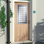 Winchester Oak Glazed Doors