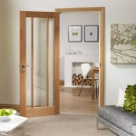 Worcester Oak Glazed Doors