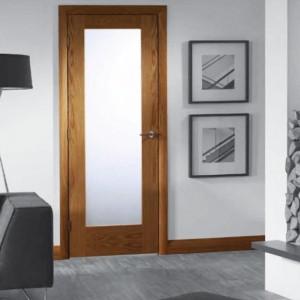 Glazed Pattern Ten Oak Doors