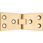 4 Inch Counter Flap Hinge  Polished Brass
