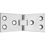 4 Inch Polished Chrome Counter Flap Hinge