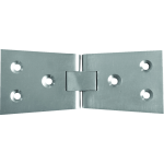 4 Inch Counter Flap Hinge Satin Chrome
