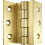 63mm 1951 Stormproof Casement Window Hinge Solid Brass