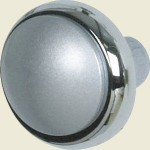 Chrome Effect Cupboard Knob
