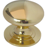 25mm Cupboard Knob PB
