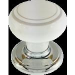 Henley Platinum Porcelain Cupboard Knob