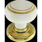Henley Gold Porcelain Cupboard Knob
