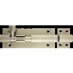 102mm x 38mm Architectural Straight Barrel Bolt Satin Nickel