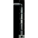 305mm Drop Down Garage Door Bolt Short Handle