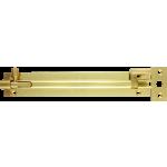 152mm x 25mm Necked Barrel Bolt Polished Brass