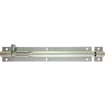152mm x 25mm Straight Barrel Bolt Satin Chrome