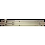 203mm x 32mm Architectural Straight Barrel Bolt Satin Nickel