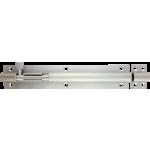 203mm x 38mm Architectural Straight Barrel Bolt Satin Chrome
