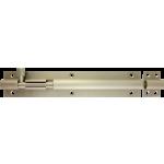 203mm x 38mm Architectural Straight Barrel Bolt Satin Nickel