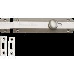 152mm Flat Slide Action Door Bolt Satin Nickel