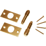 High Security Door Hinge Bolts Brass Plated