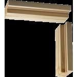 838 x 2040 x 132 FD30 Softwood Fire Door Casing