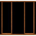 78 Inch Hardwood Sidelight Door Frame Kit