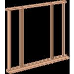 Hardwood Vestibule Frame Kit