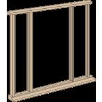 Oak Vestibule Frame Kit